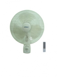 Jetstream RWF40 Wall Mounted 3-Speed Fan with Remote
