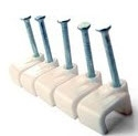 Cable Clips for 1.5mm & 2.5mm 3Core Flat Cable (Jar 100)