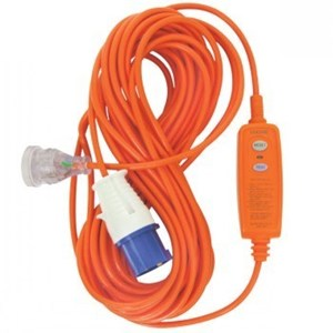 Goldair In-line 15Metre RCD Protected Campering Extension Lead