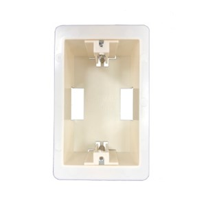 Easifix Spring loaded Wallboard mounting Flush Box