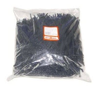Black Nylon Cable Ties 250 x 4.8mm Pack of  1000