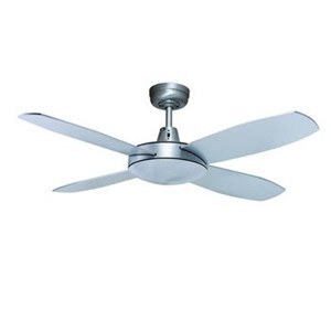 Martec Lifestyle MinI 4Blade Ceiling Fan - Brushed Aluminium