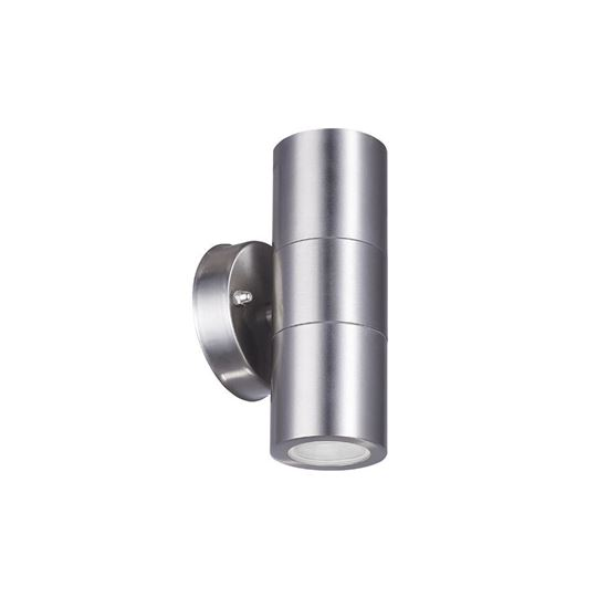 Eurotech Up/Down IP54 Wall Light 316 Stainless Steel