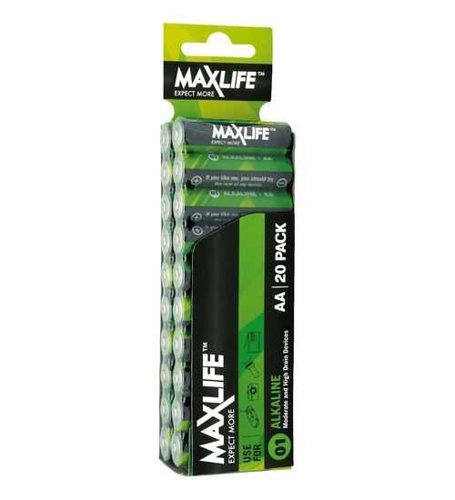 Maxlife AA Battery 20Pack