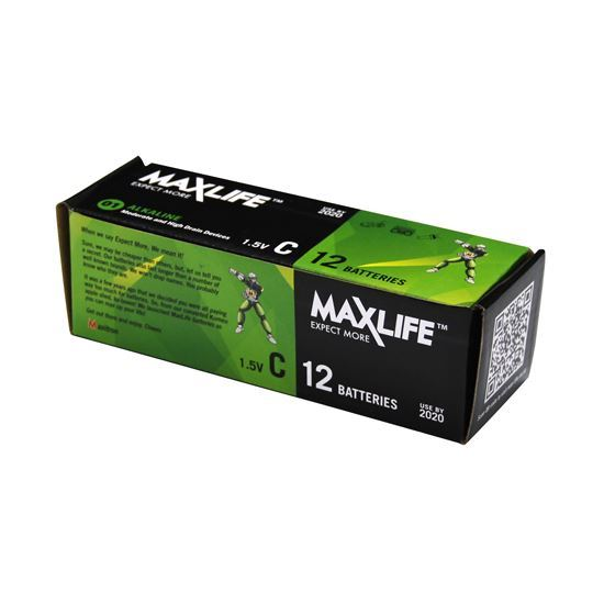 Maxlife C Type Battery 12pack