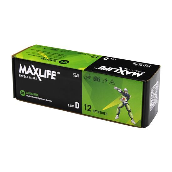 Maxlife D-Type Battery 12pack