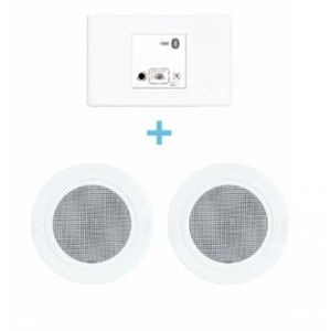 Legrand Bluetooth Flush Mount Speakers and Receiver Kit