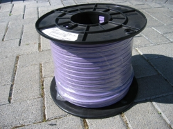 Cable - Non-migratory TPS 1.5mm 2C+Earth purple sheathed - per metre