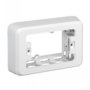 Iconic 40mm Deep Mounting Block - Vivid White