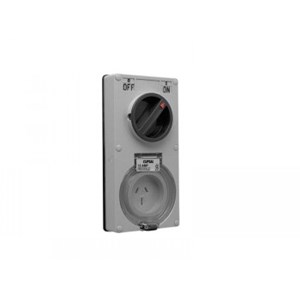 PDL 56 Series 15Amp 3Pin Switch Socket - Choose Colour