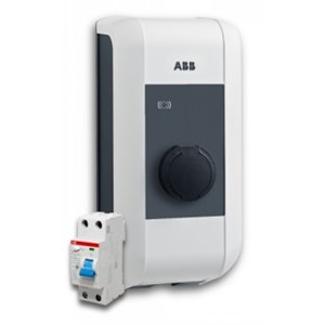 EV ABB Lunic 20A 4.7kW Wall Charger (With RCD Protection)