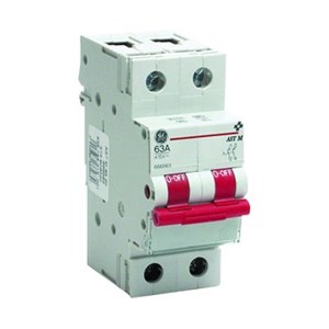 GE Mains Switch 63Amp 2Pole
