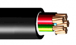 Circular TPS Cable - 16mm2 4Core + Earth XLPE - metre