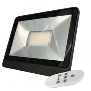 21Watt Simx LED Flood  w/Remote Control - Available in Black & White