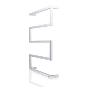 Goldair 5-Bar Square Towel Rail - Stainless Steel