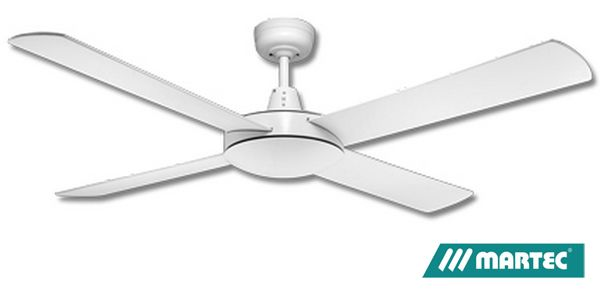 Martec Lifestyle 1300mm AC Ceiling Fan - White