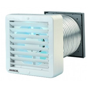 Manrose FAN0136 Classic XP150A Thru Wall Extraction Fan Auto Shutter